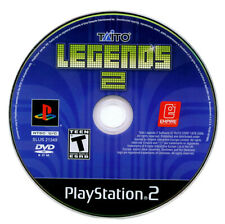 Taito Legends 2 Sony Playstation 2 PS2 Video Game DISC ONLY Arcade 39 Games