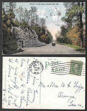 1921 Missouri Postcard - Kansas City - Spring on Cliff Drive