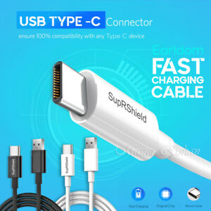 USB Type-C Fast Charging Cable For Samsung Galaxy A20 A30 A31 A50 A51 A70 A71 90