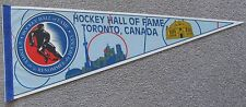 NHL HOCKEY HALL OF FAME PENNANT