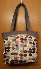 JJ Cole Collections Diaper Bag Purse Tote Leaf Design - Medium