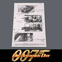 DIE ANOTHER DAY - JAMES BOND - Production Used Storyboard - Chase Scene (38)