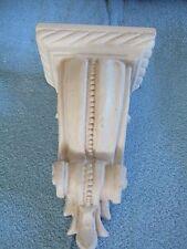 Beautifull courtain rod shelves Cream with design (REDUCE
