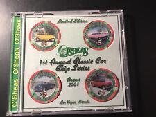 O'Sheas 1st Annual Classic Car Casino Chip Set 2001