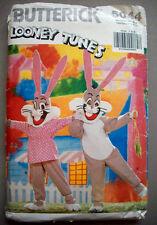 Child BUGS BUNNY Looney Tunes costume pattern 5044 sizes 4/5  6/7  8/10  12/14