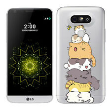"""5.3"""" Soft TPU Silicone Case For LG G5 Protective Phone Back Cover Skins Clear"""