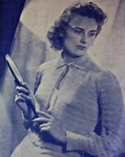 The Lady 1941 Edition Deanna Durbin Melverns Vintage Women Clothing Designs