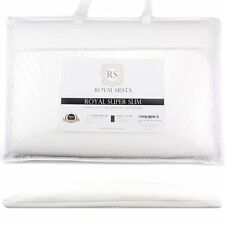 Royal Super Slim Pillow 2.5 Inches Thick For Stomach, Back & Side Sleepers - Low