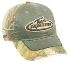 TEAM REALTREE X-tra Camo & Blk Oiled/Worn Deer Hunting Hat/Cap FAST S&H TRT-15F