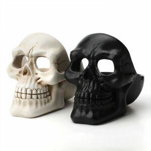 Creative Gothic Skull Resin Cigar Ashtray Ash Container Boy Gift Home Bar Decor