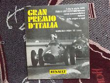 GRAN PREMIO ITALIA-PB LIBRO-RENAULT-Lingua ITALIANA-ITALIAN GRAND PRIX