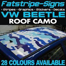 VW Beetle Camouflage Toit Graphique Autocollants Rayures autocollants Volkswagen 1.6 1.8 Turbo