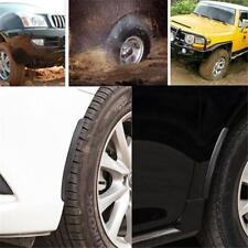 1 Pair Car Truck Rubber Mud Flaps Mud Guard Fender Carbon Fiber Look Front Rear