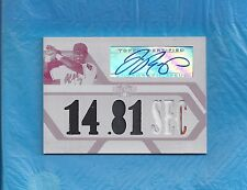 JOSE REYES AUTO 2008 TOPPS TRIPLE THREADS WHITE WHALE RELIC AUTOGRAPH #1/1 METS
