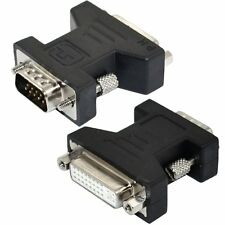 DVI-I DVI BUCHSE AUF VGA STECKER MONITOR F KONVERTER VIDEO ADAPTER 15 29 PIN