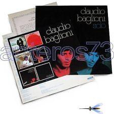 """CLAUDIO BAGLIONI """"SOLO"""" RARO LP PROMO DI STAMPA SPAGNOLA + INFO"""