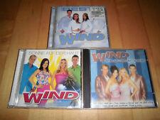 Wind - Das Beste/Sonne auf der Haut/Nur mit Dir und sofort - 3 CDs