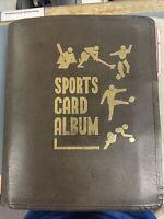 1978-1979 MLB Topps Card Lot In Orginal Leather Spiral Binder