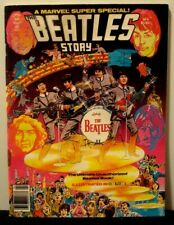 THE BEATLES - A MARVEL SUPER SPECIAL - THE BEATLES STORY - ILLUSTRATED COMIC - 1
