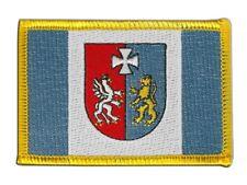 Polen Woiwodschaft Karpatenvorland Aufnäher Flaggen Fahnen Patch Aufbügler 8x6cm