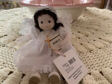 Green Tree Collectibles Music Box Doll FIRST COMMUNION GIRL Plays AMAZING GRACE