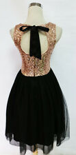 WINDSOR Black BLush Dance Party Prom Dress 7 - $85 NWT