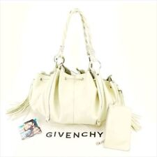 6a11b0fc65fb Givenchy Shoulder bag White Woman unisex Authentic Used T6305