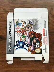 Shining Soul Gameboy Advance Game Boy Empty Box Only