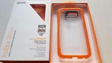 Gear 4 Negro Heladera choque con D30 mundo paliza Protección para Samsung S6 Naranja