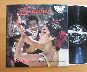 SXL 2020 ED1 Espana Argenta London Symphony NEAR MINT Decca BBB WBG 1st