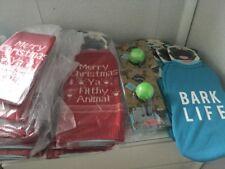 Job Lot Bundle Dog Items Christmas Jumpers Stockings 'merry Christmas.. 28 Items