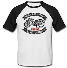 Moto GUZZI FALCONE-nueva Camiseta Algodón-todos Los Tamaños En Stock