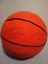 ANTAWN JAMISON UNC/NBA Player Autographed Miniature Basketball