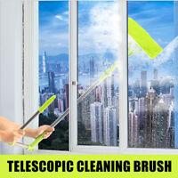 Safe Telescopic High-Rise Window Cleaning Brush Glass Cleaner Windows Dust Brush