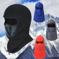Cycling Hat Full Face Mask Polar Fleece Balaclava Hood for Motorcycle Snowboard