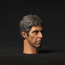 "HEADPLay Model 1/6 Scale Scarface Al Pacino Tony Montana Man Head Fit 12"" Figure"