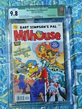 Bart Simpson's Pal Milhouse #1 Signed by Bill Morrison CGC 9.8