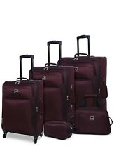 TAG DAYTONA 5-Pc. LIGHTWEIGHT SPINNER LUGGAGE SET Burgandy