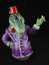 BRONTE LTD. EDITION CANDLE SNUFFER - PUNCH AND JUDY CROCODILE
