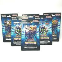 YuGiOh! 1st Edition Toon Chaos Blister Booster Pack New Sealed Lot Of 6