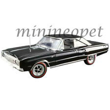 ACME A1806603 1967 DODGE CORONET R/T 1/18 DIECAST MODEL CAR BLACK