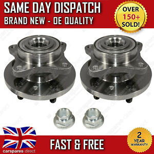 LAND ROVER DISCOVERY 3 & 4 L319 FRONT WHEEL BEARING & HUB KIT PAIR X2