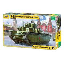 Zvezda 3667 Soviet Heavy Tank T-35 1/35