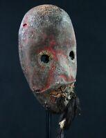 Art African tribal African- Mask Diminutive Pasport Dan Fetish - 13,5 CMS