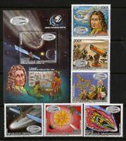 Central Africa Stamps # 779-85 VF OG NH S/S