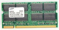 SAMSUNG 512 MB PC2 100 CL2.5 M470L6423DN0-CBO LAPTOP MEMORY