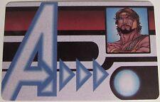 AVID-004 HERCULES ID CARD Avengers Assemble Marvel Heroclix