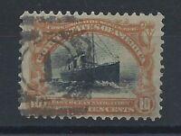 """Etats Unis N° 143 Obl (FU) 1901 - Transatlantique """"Saint Paul"""""""