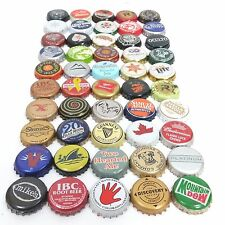 Beer Bottle Cap Lot Of 50 Different Mixed Bundle For Collecting Or Crafts (3)
