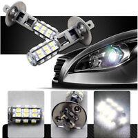 2pcs H1 6000K LED 25-SMD Canbus Hyper White Headlight High Beam Head Light